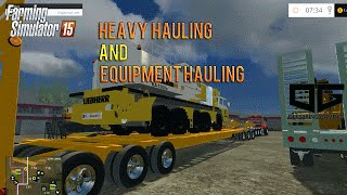 getlinkyoutube.com-Farming Simulator 2015 - Heavy Hauling and Hot Shot Hauling