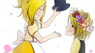 💟~| Chica x Golden freddy (Goldica)| fnaf~💟