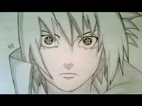 How to Draw Sasuke Uchiha Mangekyou Sharingan