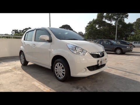 2011 Perodua MyVi EZ Start-Up, Full Vehicle Tour and Quick Drive