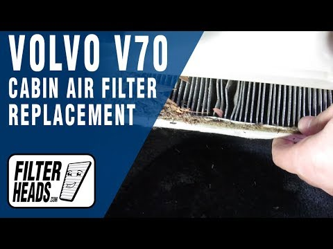 Где в Volvo C70 салонный фильтр