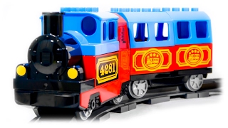 getlinkyoutube.com-TRAINS FOR CHILDREN VIDEO: LEGO Duplo Train 10507 My First Train Set Toys Review