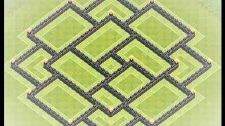 getlinkyoutube.com-Amazing TH9 Trophy Base - Rush to Masters & Above!
