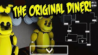 getlinkyoutube.com-THE ORIGINAL DINER!!   Five Nights To Remember - Part 1
