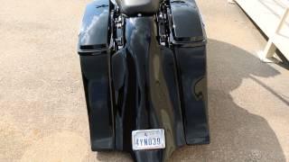 getlinkyoutube.com-Custom Harley Bagger Audio Stereo Speakers & Sound System