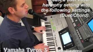 getlinkyoutube.com-Tyros 3: Linda Ronstadt - Blue Bayou (vocal harmony)