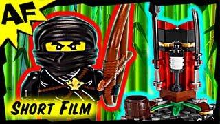 getlinkyoutube.com-NINJA TRAINING OUTPOST 2516 Lego Ninjago Animated Short & Stop Motion Set Review