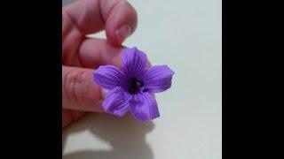 getlinkyoutube.com-Como Hacer Flores Pequeñas en Porcelana Fria