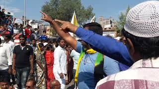 Nabalik Chatra rep kesh me aaj Bijapur dist.band.aandholan