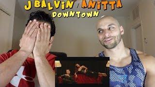 Anitta & J Balvin - Downtown [REACTION]