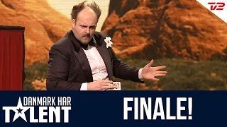 Tryllekunstneren Hennings optræden i Danmark har talent - Finale!