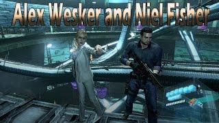 getlinkyoutube.com-Resident Evil 6 Mods Alex Wesker and Niel Fisher