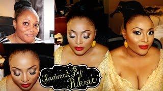 getlinkyoutube.com-GlammedByPuksie: Hair and Makeup for Chi Chi