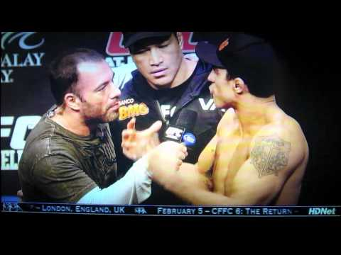 UFC 126 Anderson Silva &amp; Vitor Belfort weigh in