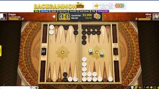getlinkyoutube.com-Backgammon Live - Playing Persia table - 3000$ BET