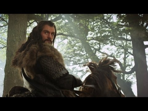 The Hobbit - Misty Mountain Song Music Video with Lyrics