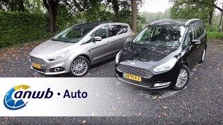 getlinkyoutube.com-Ford Galaxy vs Ford S-Max 2015 dubbeltest - ANWB Auto