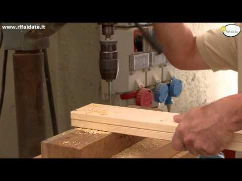 Come costruire un tavolo in legno fai da te mania - Costruire tavolo in legno ...