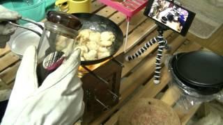 getlinkyoutube.com-ヨッシー賞でいただいた ちびパンでチビチビと・・・ ~第二回ホットサンド選手権~