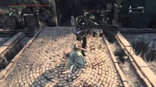 getlinkyoutube.com-ネタ武器?[ガラシャの拳]能力とモーション 試し拳闘   ブラッドボーン オールドハンターズ  DLC【Bloodborne: The Old Hunters】