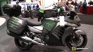 getlinkyoutube.com-2016 Kawasaki Concours 14 ABS - Walkaround - 2015 AIMExpo Orlando