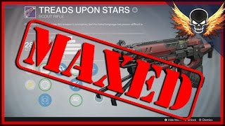 Treads Upon Stars Maxed! Vanguard Strike Drop Legendary Scout Rifle