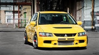 New Mitsubishi Lancer Evolution IX Tribute