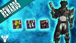 Destiny | Trials of Osiris Year 2 Rewards /  Loot (My Titan)