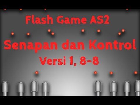 Membuat Game Flash Actionscript 2, 8, Senapan dan Kontrol, Menggerakkan Total Peluru Selesai