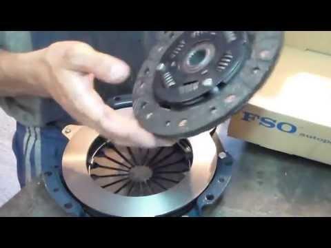 Видео отчёт:Замена сцепления СЕНС.