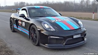 getlinkyoutube.com-Porsche Cayman GT4 with FULL Fabspeed Race Exhaust INSANE SOUND!