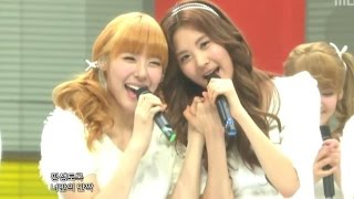 getlinkyoutube.com-Girls' Generation - My Best Friend, 소녀시대 - 단짝, Music Core 20101030