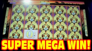 getlinkyoutube.com-50 Lions DELUXE - SUPER MEGA BIG WIN - New Slot Machine 3 Bonus Showcase