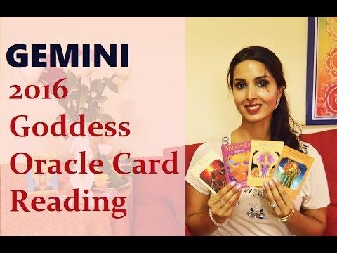 Gemini 2016 Goddess Oracle Card Reading