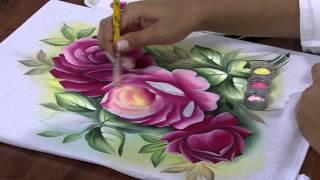 getlinkyoutube.com-Mulher.com 25/04/2013 Ana Laura Rodrigues - Pintura em tecido Parte 2
