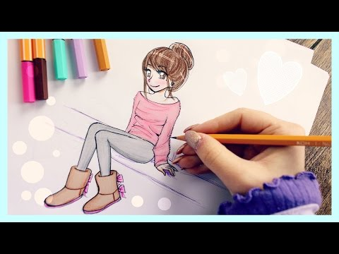 Videos youtube how to draw cool lines line weight for Draw with jazza mural