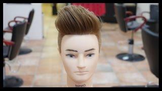getlinkyoutube.com-Pompadour Undercut - Men's Haircut Tutorial - TheSalonGuy