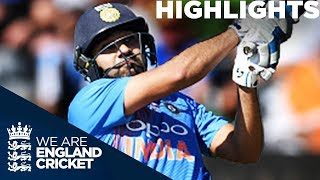 Rohit Stars In Stunning Series Finale  | England v India 3rd Vitality IT20 2018 - Highlights width=