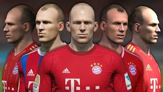 getlinkyoutube.com-Robben from FIFA 04 to 16 (Face Rotation and Stats)