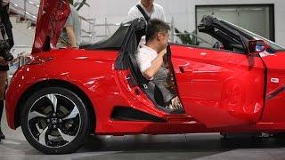getlinkyoutube.com-【Honda S660】フレームレッド(赤)の外観を撮ってきました!( ^ ^ )/ @ウエルカムプラザ青山