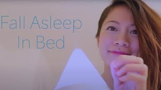 ASMR Helping You Fall Asleep In Bed ~Face Massage ~ Oils ~ Aromatherapy~