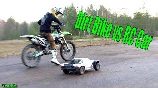 getlinkyoutube.com-Dirt Bike vs RC Car