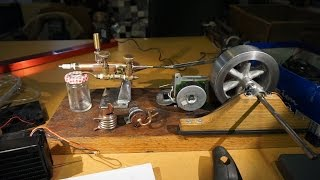 getlinkyoutube.com-Homemade Internal Combustion Engine LIVE STREAM Run and Q&A