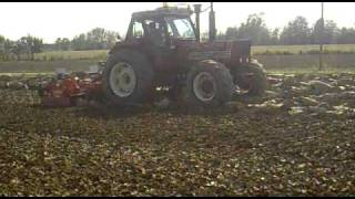 getlinkyoutube.com-iron 185 in aratura e fiat 160/90 con rotante maschio 4 m