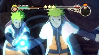 getlinkyoutube.com-Naruto Ultimate Ninja Storm 2 MOD (60 FPS) Hokage Naruto vs Pain Boss Battle Character Swap