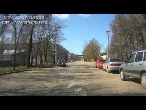 ДТП в Калуге (перекресток Никитина и Восточного проезда)