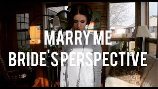 Marry Me Cover - Bride's Perspective