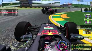 getlinkyoutube.com-Nebula rFactor F1 2016 | Round 1 Crazy Start!