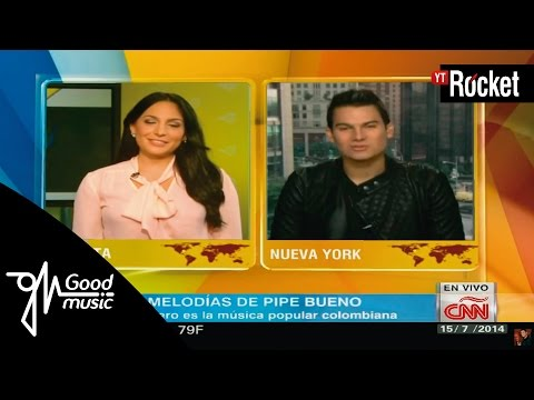 Pipe Bueno habla sobre su vida en CNN