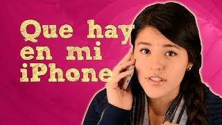getlinkyoutube.com-Lesslie: Que hay en mi iPhone | Tag que tengo en mi telefono o en mi móvil